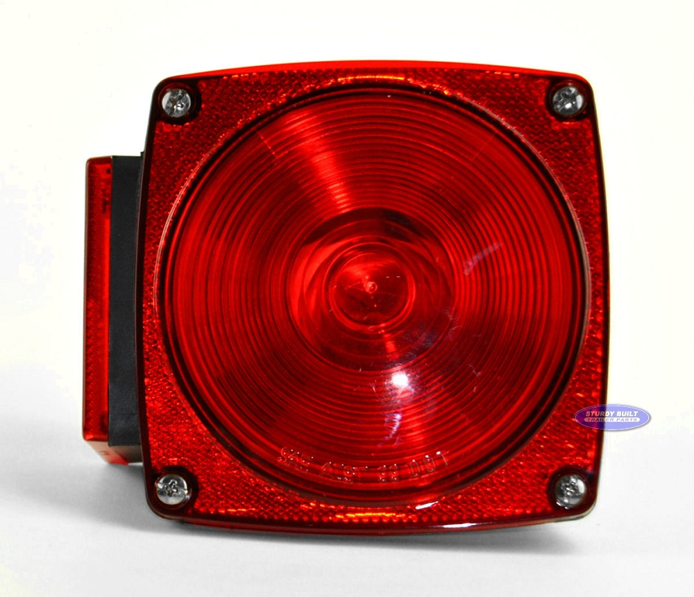 Top Tire Company >> Standard Square 440 Utility Trailer Light for Right Side Stud Mount