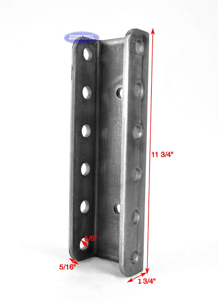 Steel Couplers With Witness Holes : Adjustable channel for pintle rings and