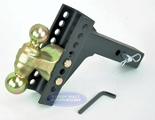 Adjustable Ball Mount Truck Hitches
