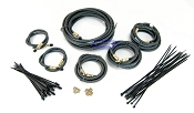 Tandem Axle Long 24ft Trailer Brake Line Kit with Flexible Hydraulic Rubber Hoses Disc or Drum