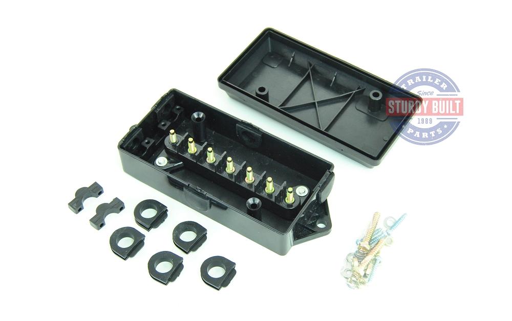 by Distributor  J-JB  sc 1 st  Sturdy Built Trailer Parts : wiring junction box - yogabreezes.com