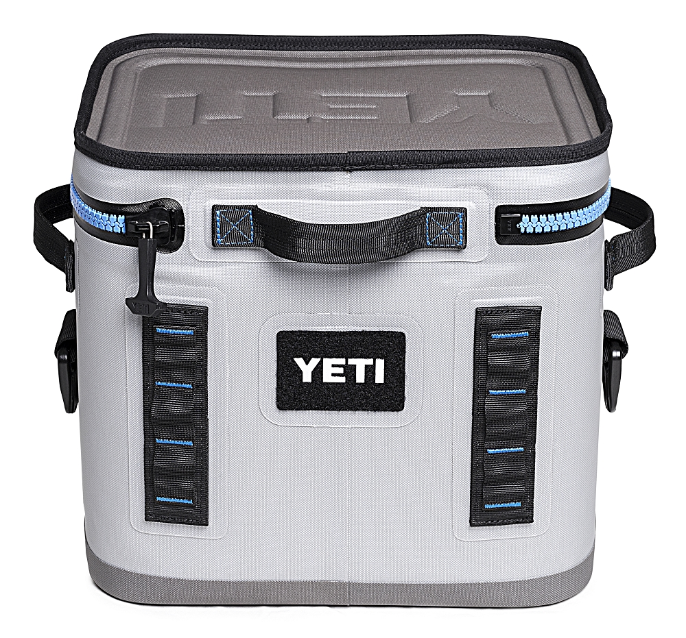 YETI Hopper Flip 12 Quart Cooler Bag Blue and Gray
