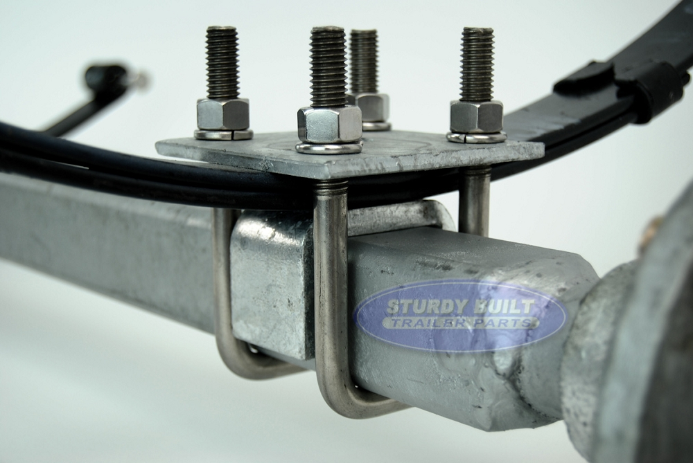 Boat Trailer Axles : Lb galvanized boat trailer axle by dexter with inch hf