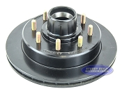 Kodiak 8 Lug Integral Replacement E Coated Rotor