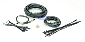 Single Axle Trailer Brake Line Kit with Flexible Hydraulic Rubber Hoses
