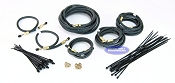 Tandem Axle Trailer Brake Line Kit 20ft with Flexible Hydraulic Rubber Hoses Disc or Drum Brakes