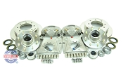 Kodiak Slip On All Stainless Steel Disc Brake Kit 8 Lug 7k w/ Stainless Steel Hubs