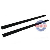 (2) - 6 Foot Boat Trailer Bunk Board Runner Pre-Carpeted 2 in x 4 in