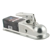 2 in Ball x 2 in Wide Lever Lock Trailer Coupler 3,500lb Capacity