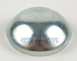 Zinc Plated 2.717 inch Trailer Dust Cap