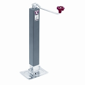 Bulldog Drop Foot Jack 5,000lb Capacity Top wind