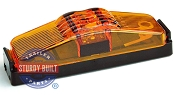 LED Sidemarker Trailer Light Kit Amber Submersible 1 inch x 4 inch by TecNiq