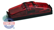 LED Sidemarker Trailer Light Kit Red Submersible 1 inch x 4 inch by TecNiq