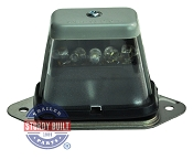 LED Trailer License Plate Tag Light Submersible Standard Mount
