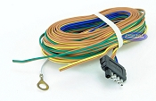 Trailer Light Wiring Harness 5 Flat 35ft to re-wire Trailer Lights with Disc Brakes