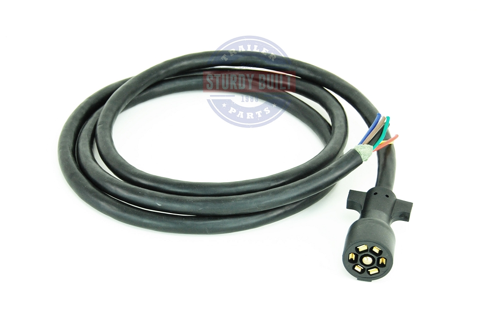 pigtail7rv sbo 4 pre wired pigtail 7 rv harness connector 8ft length with male  at n-0.co