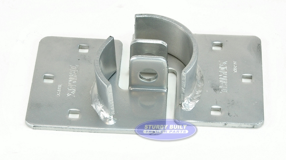 Trimax Trailer Door Hasp Plates Securing 2 Piece System