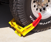 Trimax Trailer Wheel Lock Chock Security Boot Clamp TCL75