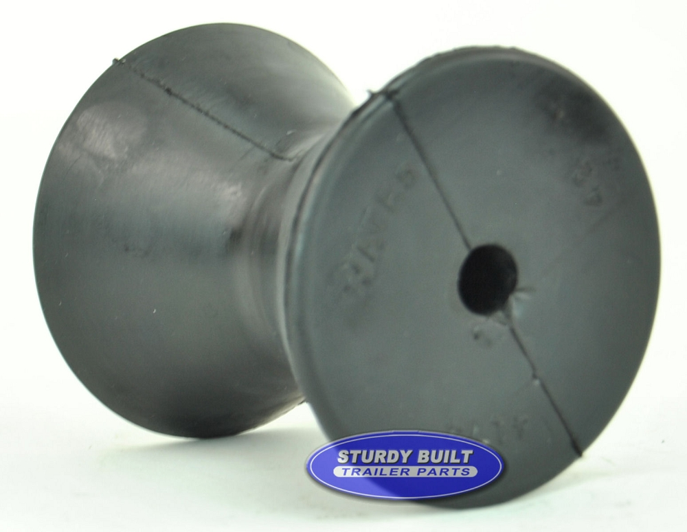 3 Inch Rubber Bow Roller For Winch Post