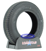 5.30 x 12 Boat Trailer Tire 5.30-12 by LoadStar LRC 1045lb Capacity