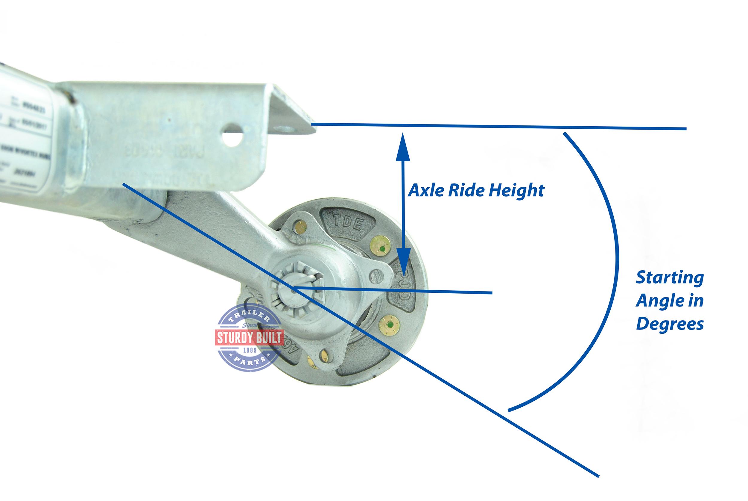 tie down actuator wiring diagram galvanized torsion axle 3500lb capacity 86 inch hub face ...