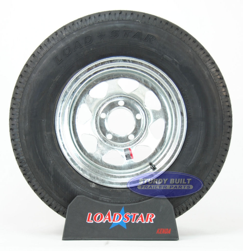 Wheel Mounted On Boats : St r trailer tire mounted on a bolt galvanized