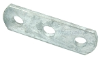 Galvanized 3 Hole Plate Small Size Shackle