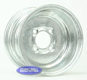 10 inch Galvanized 4 Bolt Wheel
