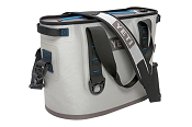 YETI Hopper 20 Quart Cooler Bag Blue and Gray