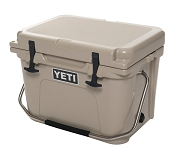 YETI Roadie 20 Quart Cooler Tan Roto Molded