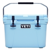 YETI Roadie 20 Quart Cooler Blue Roto Molded