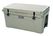 YETI Tundra 65 Quart Cooler Tan Roto Molded
