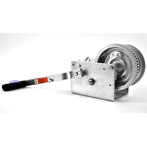 Winch Zinc Plated 3200lb Capacity Dutton-Lainson 2 Speed