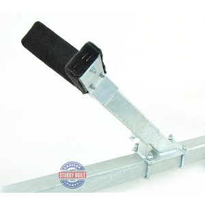 Bow Rest Catcher Assembly for Boat Trailer Adjustable Galvanized Post