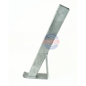 Boat Trailer Winch Post 2 inch x 3 inch x 28 inch Tall Galvanized