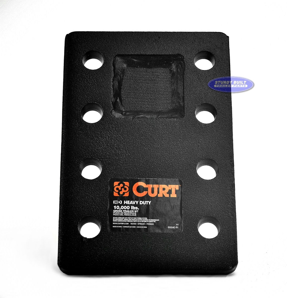 Pintle Hook Adapter Plate 8 Holes Rated To 10 000 S