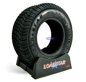 205/65-10 aka 20.5x8-10 Pontoon Boat Trailer Tire by LoadStar LRD 1330lb