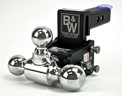 B&W Tow and Stow Ball Adjustable Ball Mount Model 6