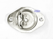 Flush Mount Anchor, Zinc Plated Steel, Rated to 1,200lbs
