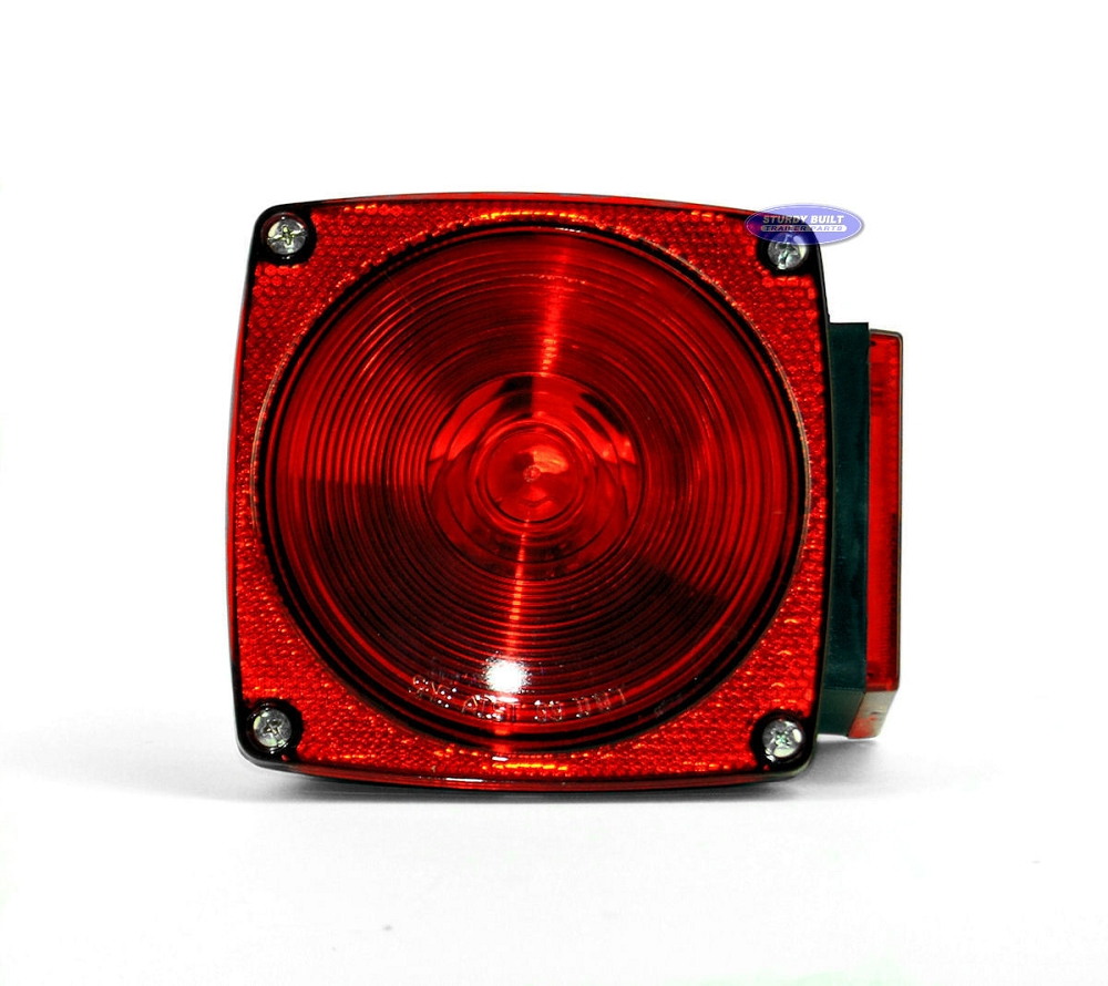 Standard Square 440 Utility Trailer Light For Left Side