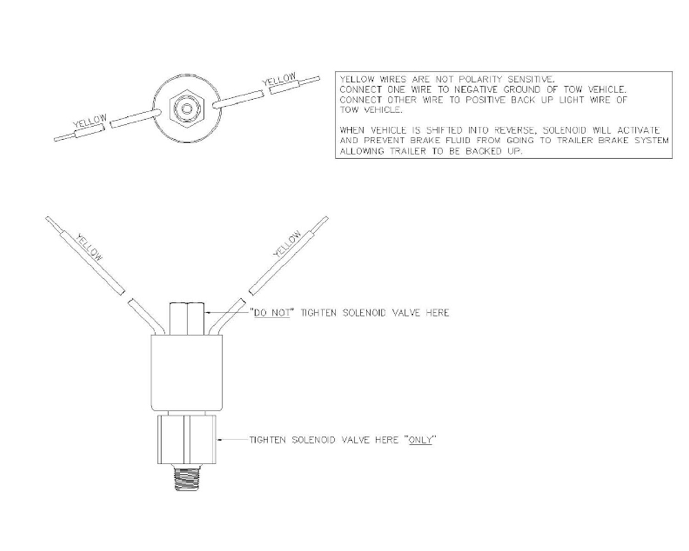 Boat Trailer Disc Brake Free Backing Reverse Lock Out Solenoid Valve Wiring Diagram By Titan 4748800