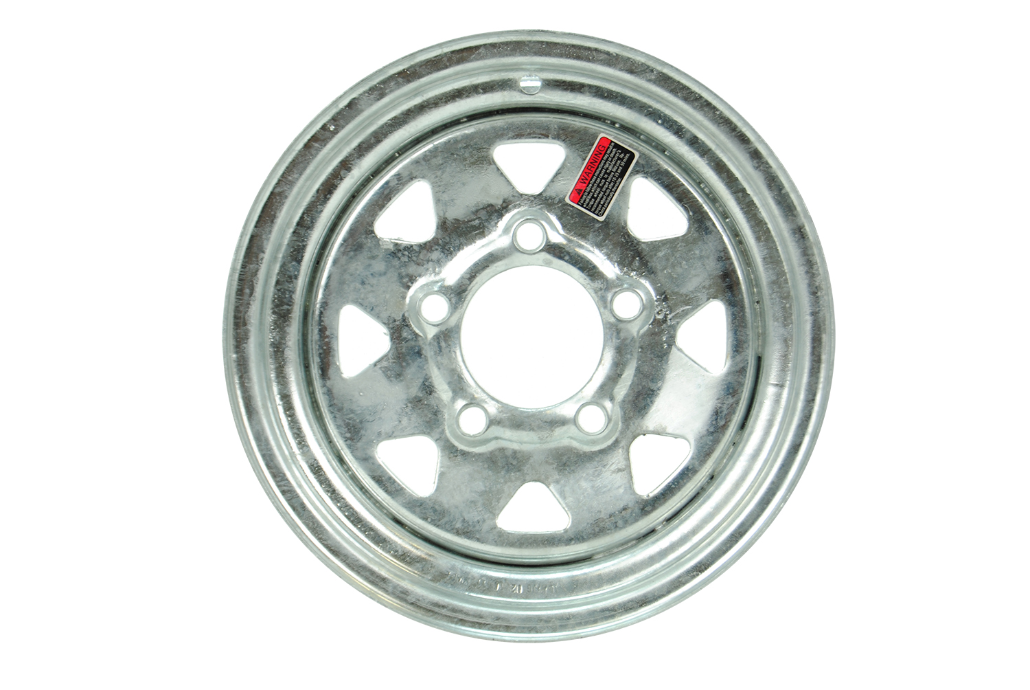 12 inch Galvanized Trailer Wheel
