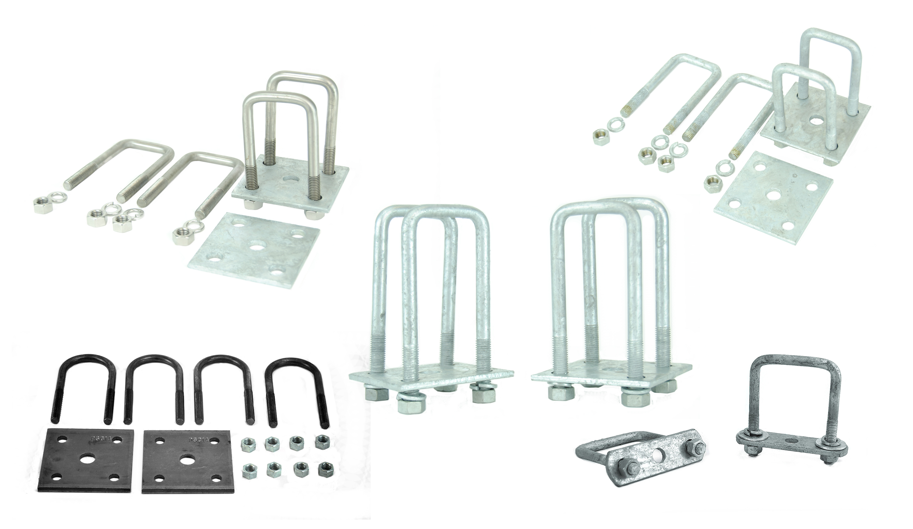 Leaf Spring U-Bolt Kits