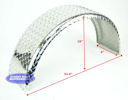 Single Axle Trailer Fenders