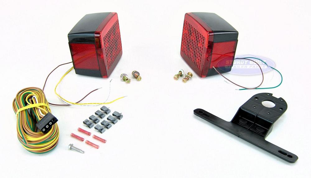 Rv Marine Utility Boat Utility Trailer Wiring Kit 68540 5 Wiring Kit
