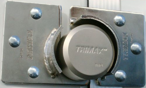Trimax Trailer Door Hasp Lock Shackle Less Thpxl