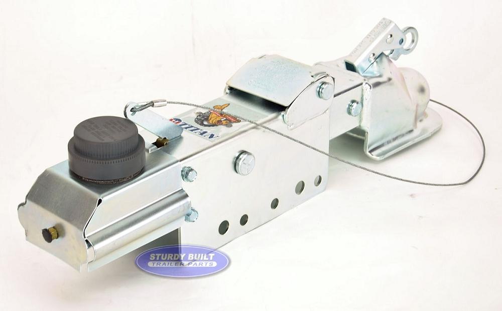 Titan M6 Hydraulic Drum Brake Surge Coupler 2 516 inch ball 8000lb