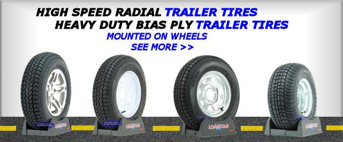 Trailer Parts Axles Tires Accesories Sturdy Built