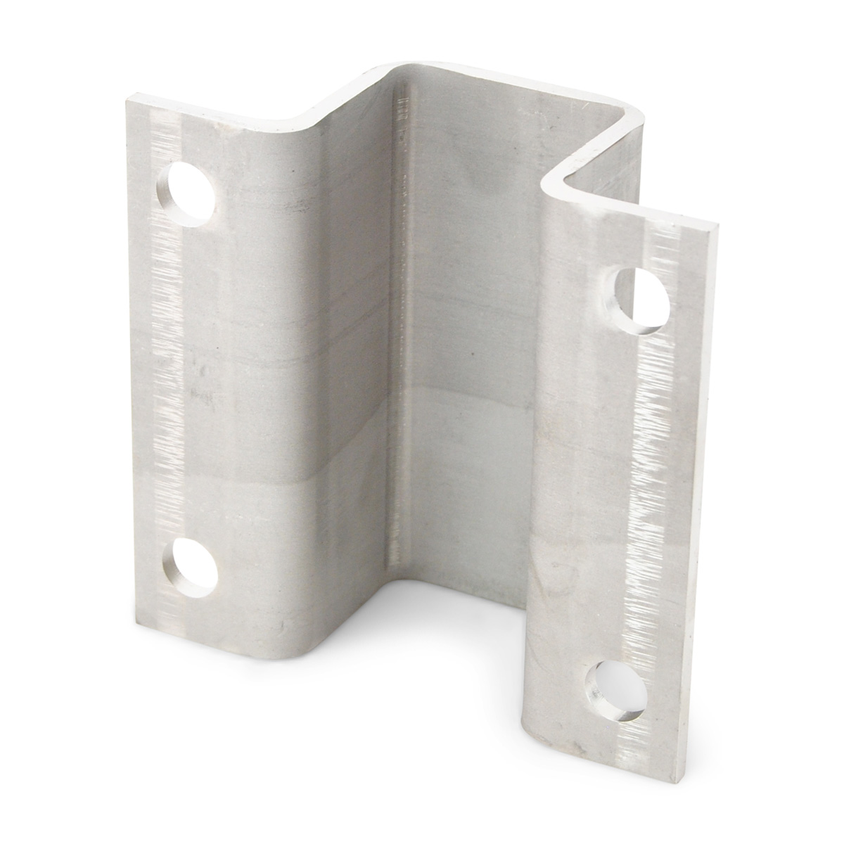 """2 -Boat Trailer 2/"""" Hot Dipped Galvanized Hat Bracket 3//16/"""" Thick Bunk Support"""