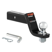 Steel Ball Mount 4 in Drop w/ 2 in Ball & Pin 7,500 lb Capacity